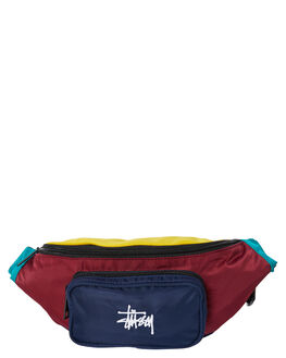 MUSTARD NAVY MENS ACCESSORIES STUSSY BAGS + BACKPACKS - ST705011MUSNV
