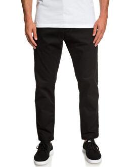 BLACK MENS CLOTHING QUIKSILVER PANTS - EQYNP03161-KVJ0