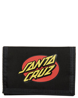 BLACK MENS ACCESSORIES SANTA CRUZ WALLETS - SC-MAA9190BLK