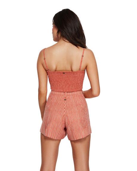 PINK SAND WOMENS CLOTHING BILLABONG FASHION TOPS - BB-6591091-PID