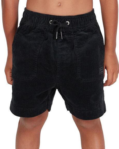 BLACK KIDS BOYS BILLABONG SHORTS - BB-7581732-BLK