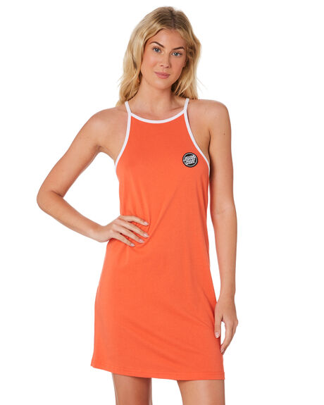 CORAL WOMENS CLOTHING SANTA CRUZ DRESSES - SC-WDD7484CRL