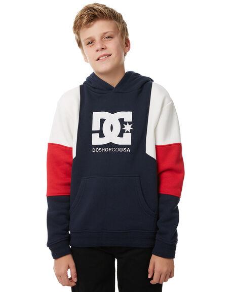 DARK INDIGO KIDS BOYS DC SHOES JUMPERS - EDBFT03133BYJ0