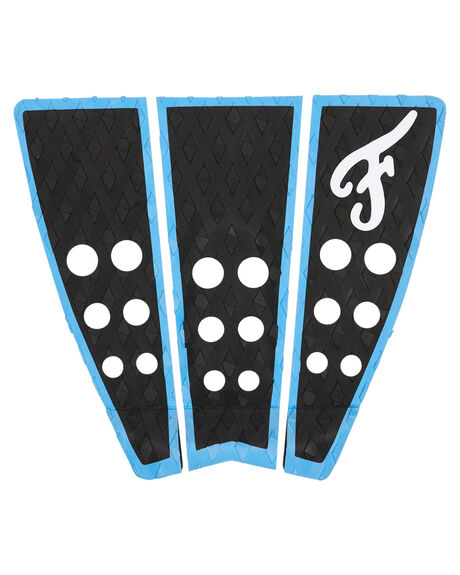 BLACK BLUE SURF HARDWARE FAMOUS TAILPADS - HAT004BLKBL