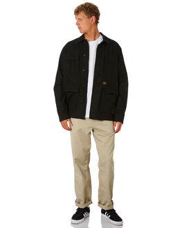 BLACK MENS CLOTHING CARHARTT JACKETS - I02648889