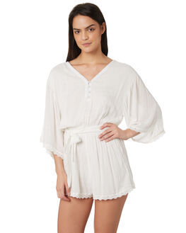 WHITE OUTLET WOMENS JORGE PLAYSUITS + OVERALLS - 8320056WHT