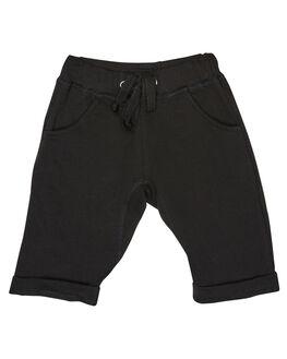 BLACK FRENCH TERRY OUTLET KIDS SWEET CHILD OF MINE CLOTHING - SP18FAMESHRTBLK