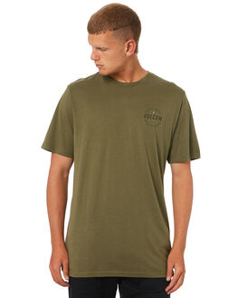 MILITARY MENS CLOTHING VOLCOM TEES - A504187GMIL