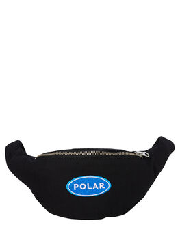 BLACK MENS ACCESSORIES POLAR SKATE CO. BAGS + BACKPACKS - PSC-STATIONHIPBLK