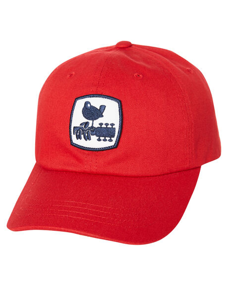 RED MENS ACCESSORIES HUF HEADWEAR - HT00430RED
