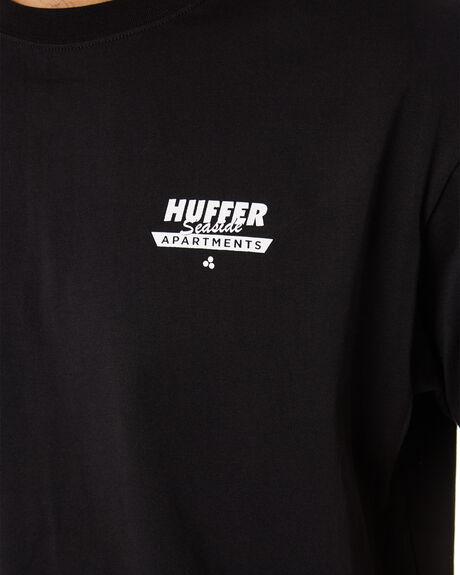 BLACK OUTLET MENS HUFFER TEES - MTE94S40921BLKBK