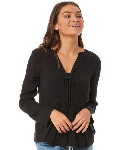 ANTHRACITE WOMENS CLOTHING ROXY FASHION TOPS - ERJWT03218KVJ0