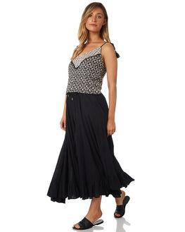 BONE BLACK WOMENS CLOTHING TIGERLILY FASHION TOPS - T382039BONE
