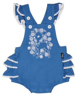 BLUE KIDS BABY ROCK YOUR BABY CLOTHING - BGB19107-LDBLUE