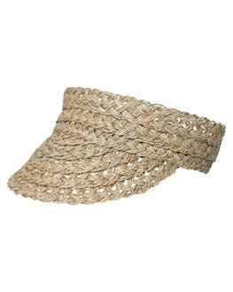 NATURAL WOMENS ACCESSORIES RUSTY HEADWEAR - HVL0278NAT