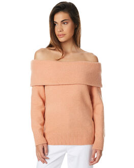 NUDE WOMENS CLOTHING MINKPINK KNITS + CARDIGANS - MP1610812NUD