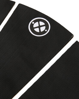 BLACK BOARDSPORTS SURF DREDED TAILPADS - DRPRO-3PCMITPBLK