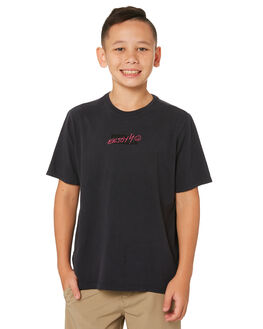 ANTHRACITE KIDS BOYS HURLEY TOPS - AQ8587-060