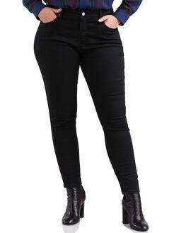 BLACK GALAXY WOMENS CLOTHING LEVI'S JEANS - 19644-0019BLK