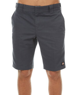 CHARCOAL MENS CLOTHING DICKIES SHORTS - WR872CHA