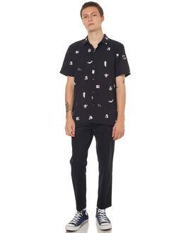 BLACK MENS CLOTHING NO NEWS SHIRTS - N5171168BLACK