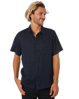 NAVY MENS CLOTHING MR SIMPLE SHIRTS - M-04-33-04NVY