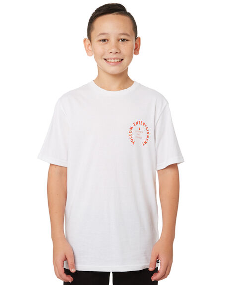 WHITE OUTLET KIDS VOLCOM CLOTHING - C5041872WHT