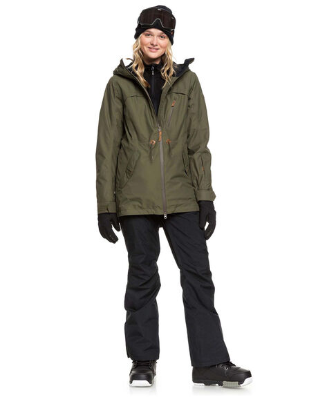 IVY GREEN BOARDSPORTS SNOW ROXY WOMENS - ERJTJ03225-CRB0