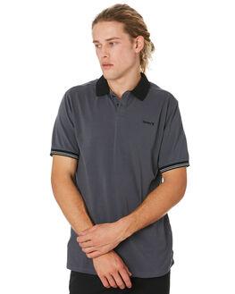 DARK GREY MENS CLOTHING HURLEY SHIRTS - CI0368021