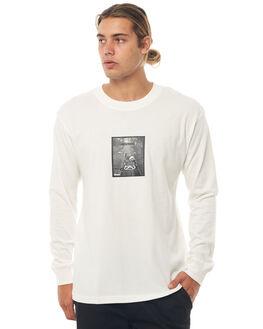 NATURAL MENS CLOTHING AFENDS TEES - M181062NAT