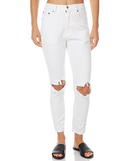 IVORY WOMENS CLOTHING ZULU AND ZEPHYR JEANS - ZZ1421IVO