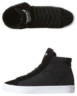 BLACK WHITE WOMENS FOOTWEAR ADIDAS ORIGINALS SNEAKERS - S76496BLK