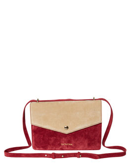 CERISE SAND SUEDE WOMENS ACCESSORIES THE WOLF GANG BAGS + BACKPACKS - TWGAW19A01-CSCRSSD