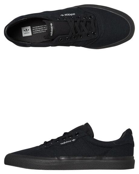 BLACK GREY WOMENS FOOTWEAR ADIDAS SNEAKERS - SSB22713BLKGW