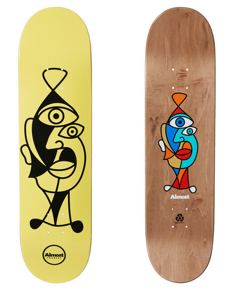YOUNESS BOARDSPORTS SKATE ALMOST DECKS - 10023699YOU