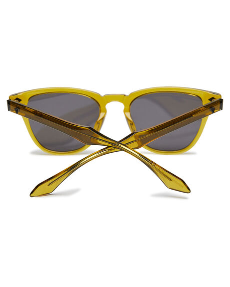 OLIVE GREEN MENS ACCESSORIES VALLEY SUNGLASSES - S0534OGRN