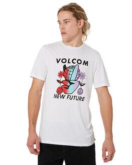 WHITE MENS CLOTHING VOLCOM TEES - A5041905WHT