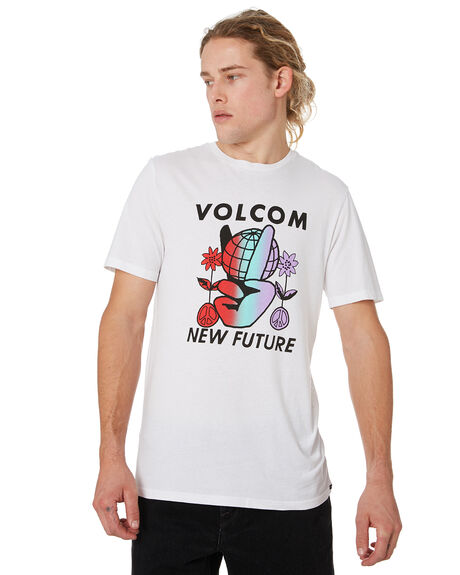 WHITE OUTLET MENS VOLCOM TEES - A5041905WHT