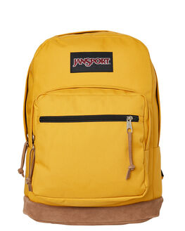 ENGLISH MUSTARD WOMENS ACCESSORIES JANSPORT BAGS + BACKPACKS - JSTYP7-JS04V
