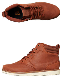 BROWN MENS FOOTWEAR DC SHOES BOOTS - ADYB700011BRN