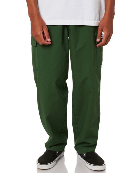 PARK GREEN MENS CLOTHING OBEY PANTS - 142020157PGRN
