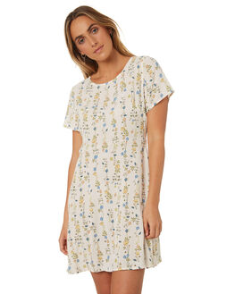 CREAM PRINT WOMENS CLOTHING ALL ABOUT EVE DRESSES - 6423091PRNT