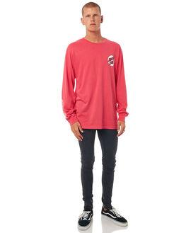 ROGUE PINK MENS CLOTHING SANTA CRUZ TEES - SC-MLD7669RPNK