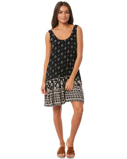 MIDNIGHT BORDER WOMENS CLOTHING O'NEILL DRESSES - 4721610-MDB