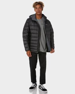 BLACK MENS CLOTHING PATAGONIA JACKETS - 84902BLK