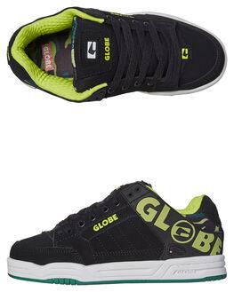 BLACK WHITE CAMO KIDS BOYS GLOBE SKATE SHOES - GBKTILT-20353