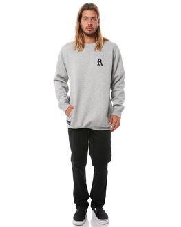 GREY MARLE MENS CLOTHING RPM JUMPERS - 8AMT17BGRYM