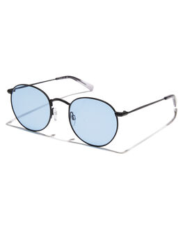 BLACK ASH BLUE MENS ACCESSORIES RAEN SUNGLASSES - 100U171BENBLKBL