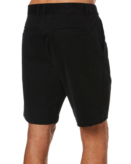 BLACK MENS CLOTHING SWELL SHORTS - S5173250BLK