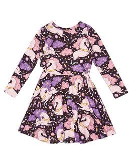 MULTI KIDS GIRLS ROCK YOUR KID DRESSES + PLAYSUITS - TGD2061-CUMULTI